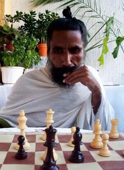 Sunyogi Umasankar za šahovskom tablom
